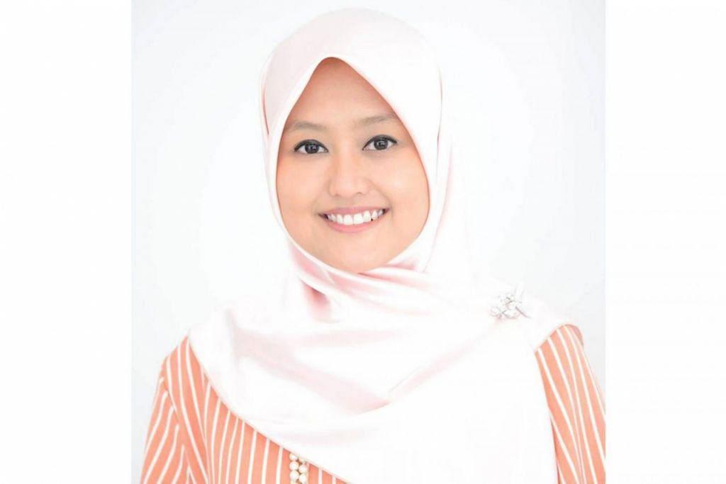 Cik Rahayu Mahzam, Anggota Parlimen (AP) GRC Jurong.