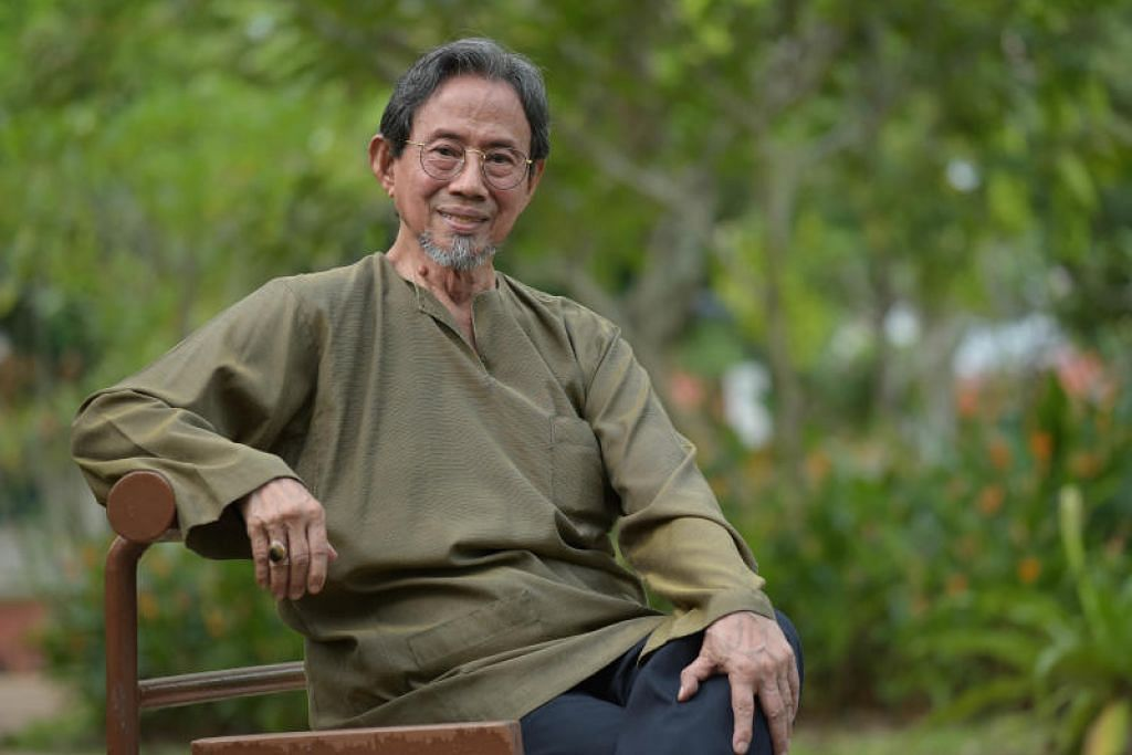 Mantan Menteri Negara Kanan, Encik Sidek Saniff. FOTO: LIM SIN THAI