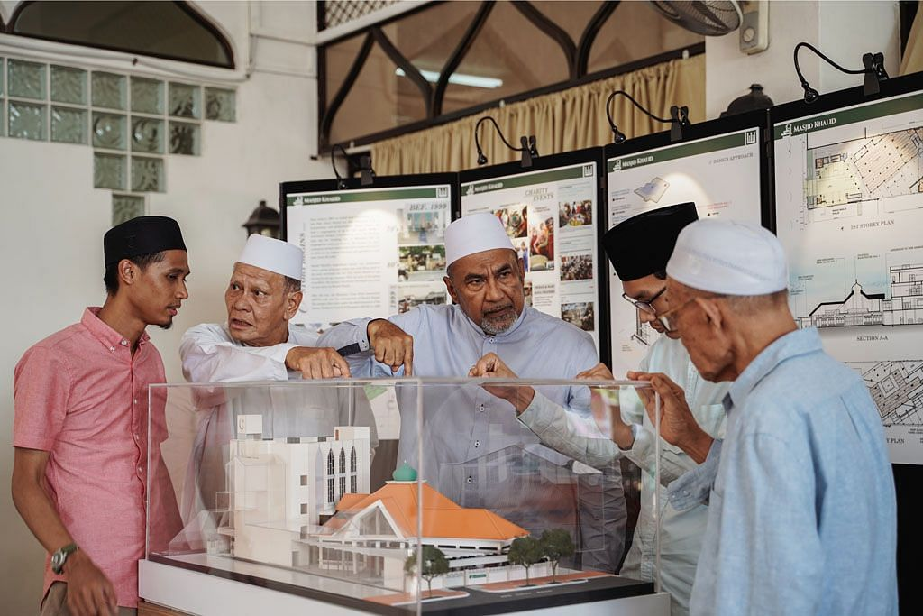 Masjid Khalid perlu $5j jalani peningkatan