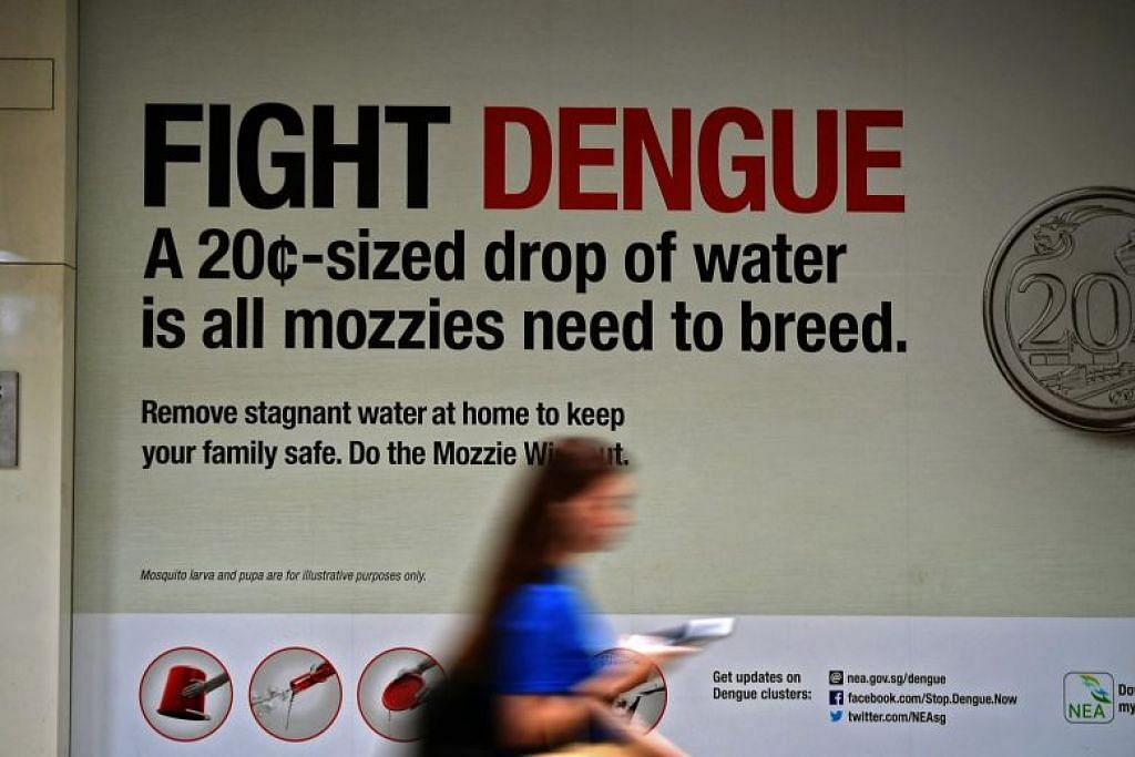 Weekly dengue cases in Singapore hit record high since January 2016