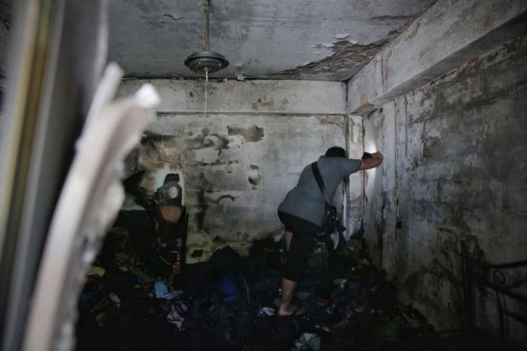 Family lost most of their belongings in Boon Lay HDB flat fire