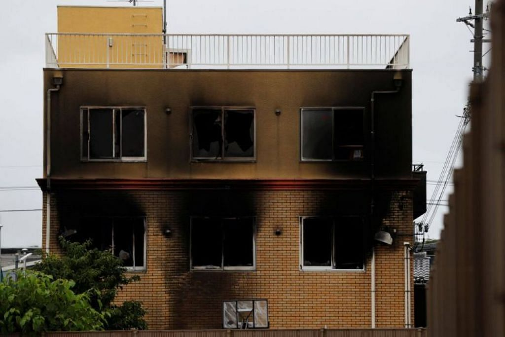 Suspected arsonist in Kyoto anime studio planned Japan's worst mass killing in 18 years: Media