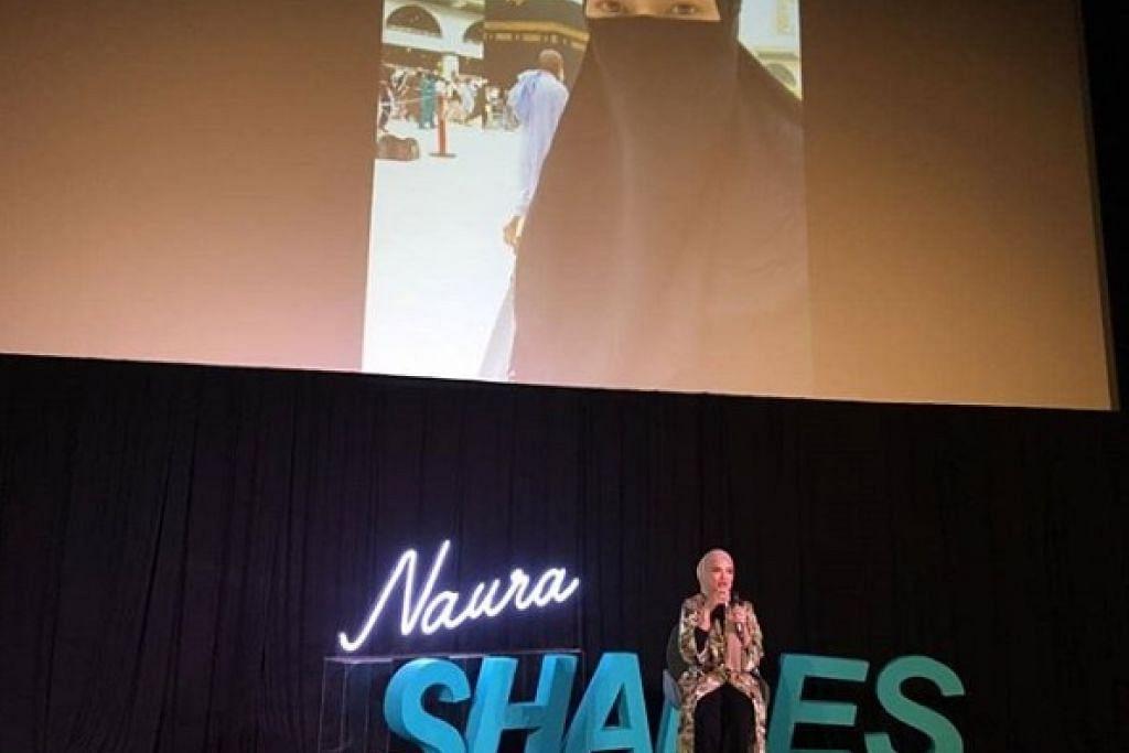 Foto: INSTAGRAM/NAURAH SHARES