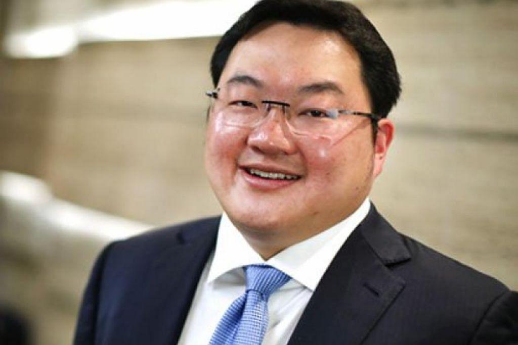 Ahli perniagaan Low Taek Jho atau dikenali sebagai Jho Low. FOTO: SPH