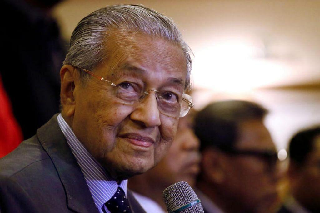 Perdana Menteri Malaysia, Mahathir Mohamad. FOTO: REUTERS