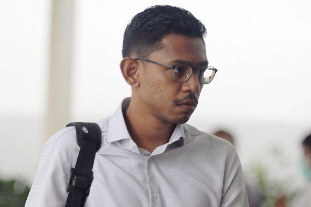 Mohamed Farid Mohd Saleh, pegawai waran pertama. FOTO: WONG KWAI CHOW