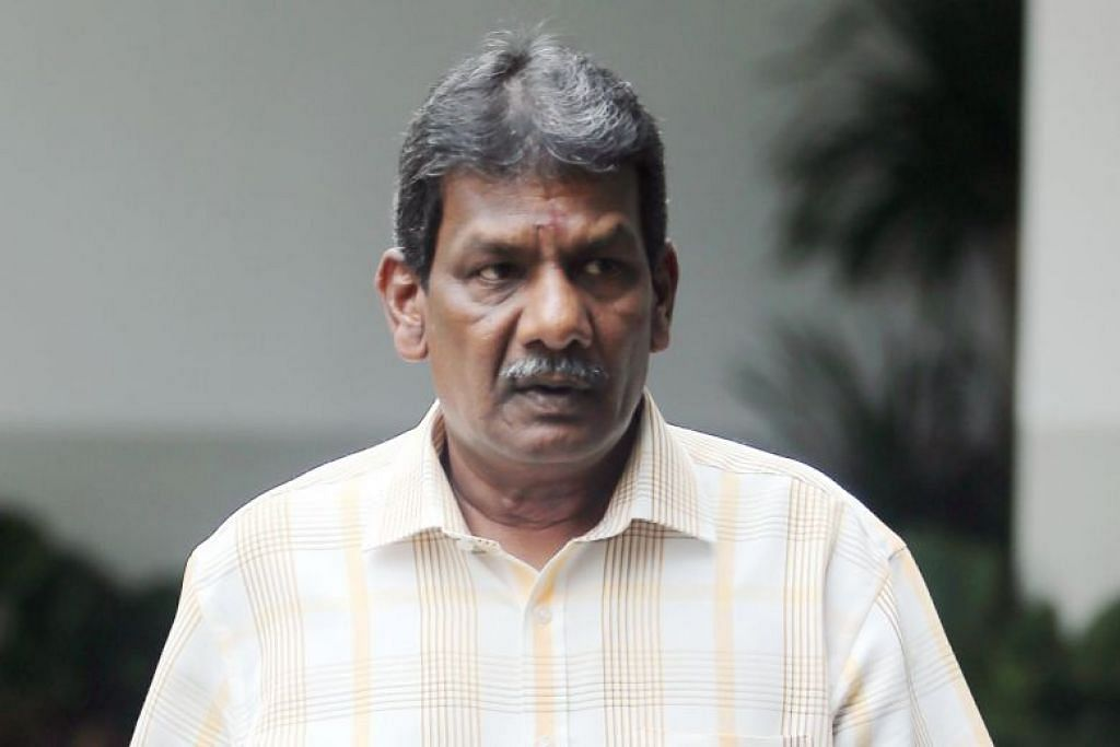 Elankovan Marimuthu didenda $4,500 atas kesalahan yang dilakukan. FOTO: WONG KWAI CHOW