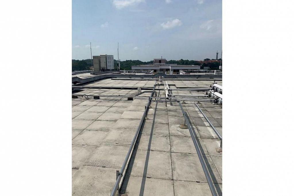 TAHAN CUACA PANAS: HDB kini menyelidik penggunaan bahan penebatan (insulation) di bumbung flat untuk menahan kesan cuaca panas dan mengurangkan suhu bangunan. – Foto HDB