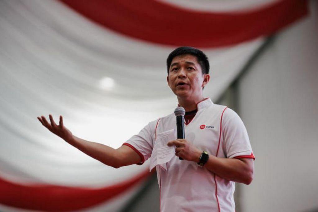 Speaker Parlimen Tan Chuan Jin mengumumkan inisiatif itu dalam satu acara makan malam Sabtu lalu (27 Julai). - Foto ST