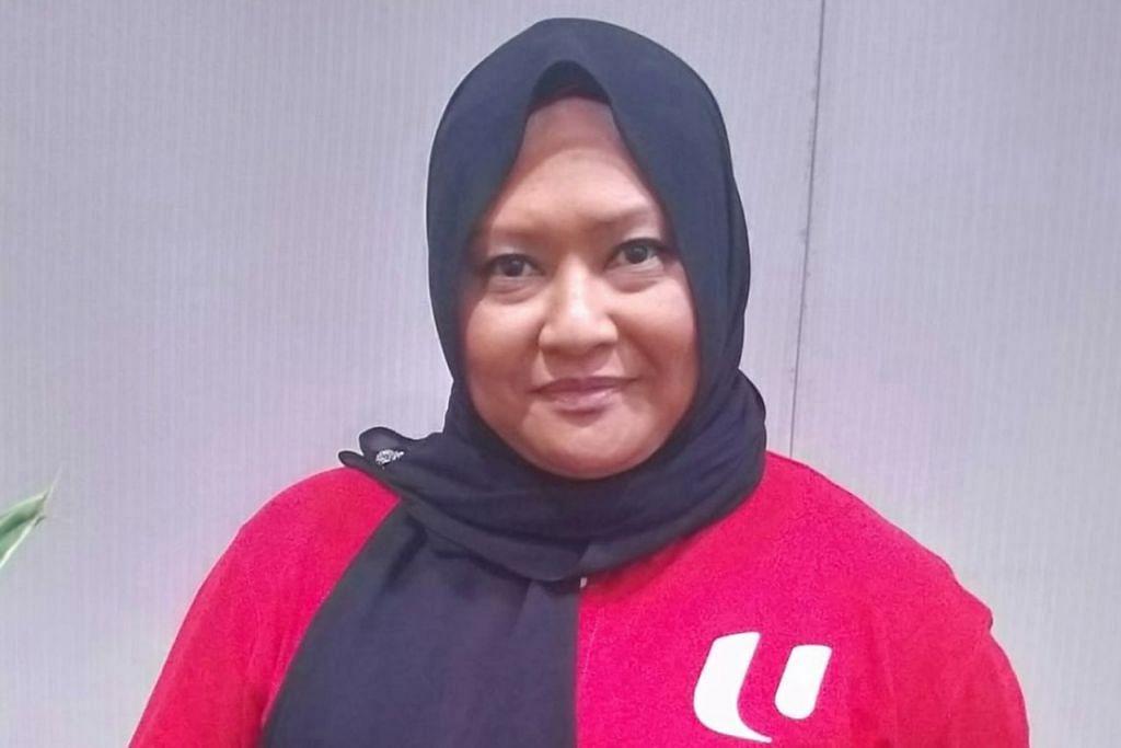 Cik Noorfarahin Ahmad, naib presiden Gabungan Kesatuan-Kesatuan Pekerja Awam.