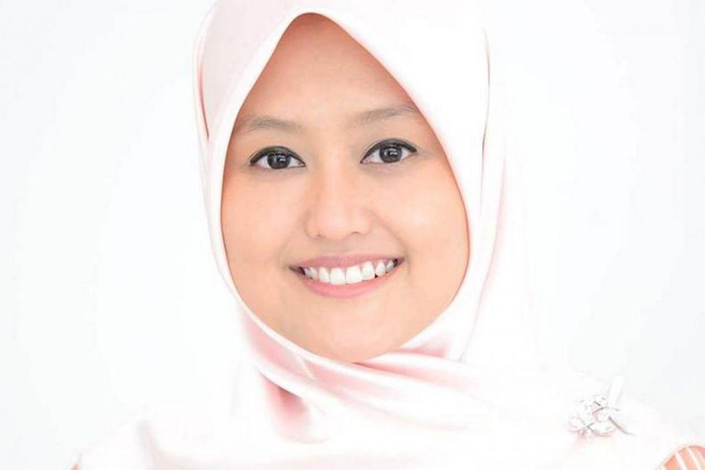 Anggota Parlimen (AP) GRC Jurong, Cik Rahayu Mahzam.