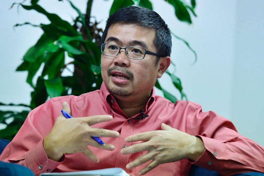 Anggota Parlimen GRC Pasir Ris-Punggol, Encik Zainal Sapari.