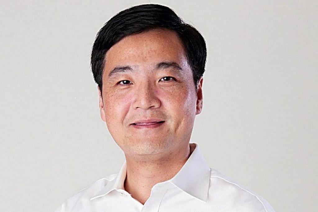 Encik Heng Chee How, Timbalan Setiausaha Agung Kongres Kesatuan Sekerja Kebangsaan (NTUC), yang juga Menteri Negara Kanan (Pertahanan).
