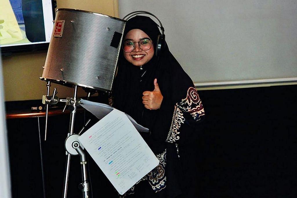 BERPENGALAMAN: Nurfathiah Diaz beralih dari meminjamkan suaranya pada watak animasi popular Upin dan Ipin kepada wira BoBoiBoy. – Foto ASTRO GEMPAK
