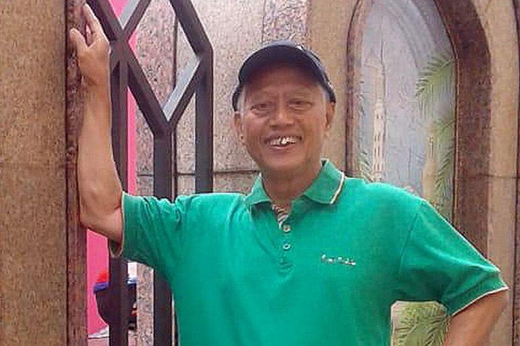 MAUT AKIBAT TERKENA SAMPAH YANG DIBUANG SEMBARANGAN: Encik Nasiari Sunee, 74 tahun, maut terkena botol kaca yang dibuang dari tempat tinggi. -Foto ihsan NAS SURIATI NASIARI.