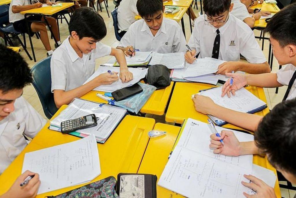 PENERAJU SISTEM SBB: Sekolah Menengah St Andrew's (SASS) merupakan antara 28 sekolah menengah yang bakal menjadi peneraju SBB dari 2020. -Foto THE NEW PAPER.