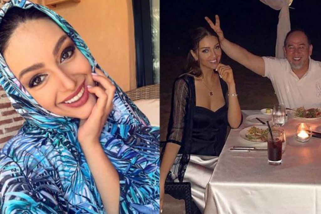 KONGSI KISAH: Cik Oksana Voevodina berkongsi kisah mengenai hubungannya bersama Sultan Muhammad V melalui Instagram. -Foto: INSTAGRAM/@RIHANAPETRA