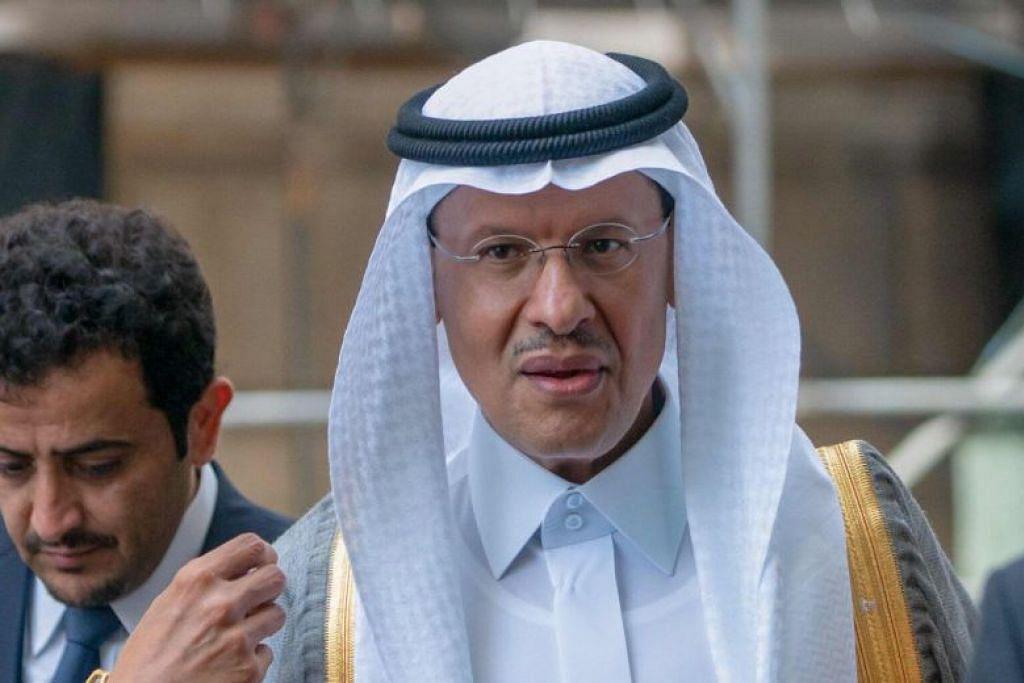 DILANTIK SEBAGAI MENTERI TENAGA BARU: Putera Abdulaziz Salman telah dilantik sebagai menteri tenaga baru Arab Saudi. -Foto AFP.