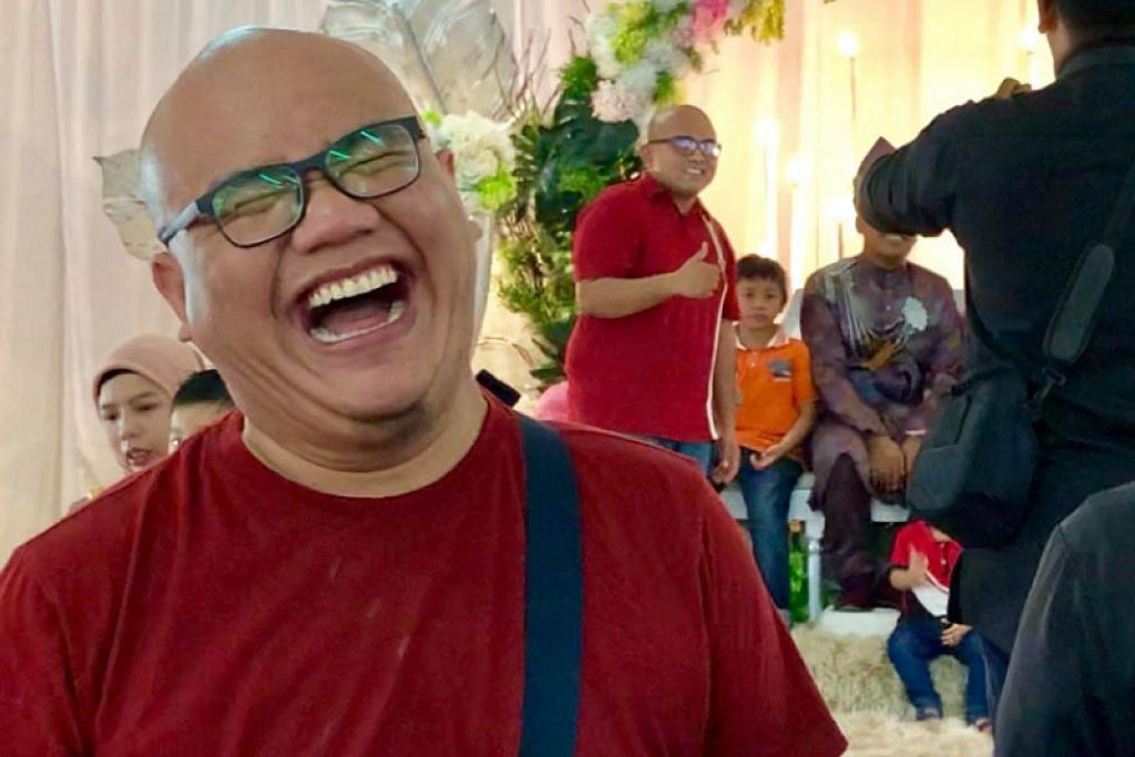 TERSEREMPAK DENGAN KEMBAR: Seorang lelaki Malaysia menemui seorang lain yang mempunyai rupa yang sama dengannya ketika majlis sanding -Foto: FACEBOOK/ZULFADHLI ZULKIFLY