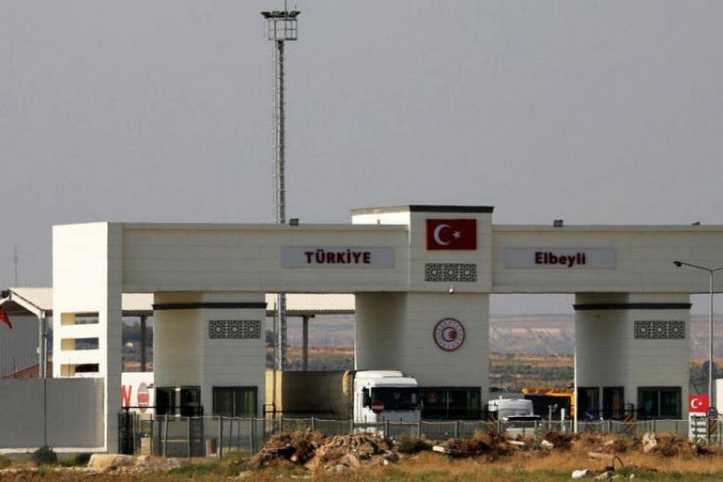 Serangan Bom dekat Sempadan Syria-Turkey - Foto: REUTERS