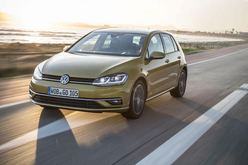 SESUAI UNTUK SEISI KELUARGA: Lebih dari empat dekad, Volkswagen telah memperbaiki desain Golf. -foto: VOLKSWAGEN