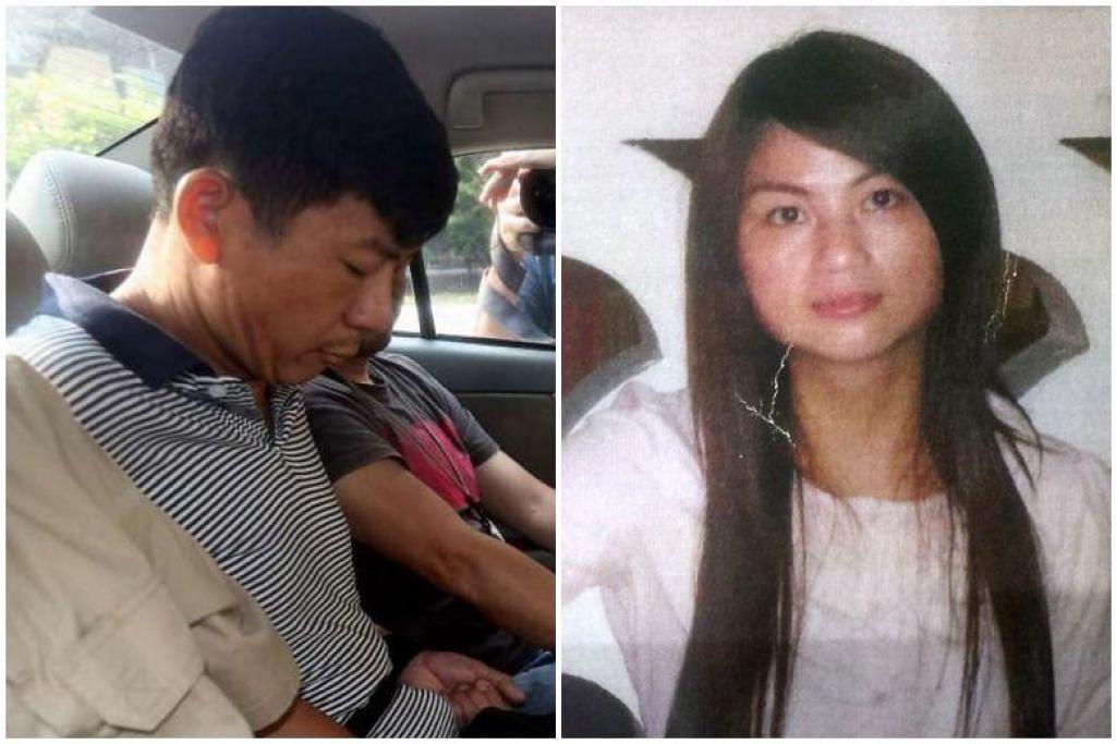 Warga Malaysia Boh Soon Ho (kiri) dituduh membunuh warga China Zhang Huaxiang akibat cemburu. -Foto fail.