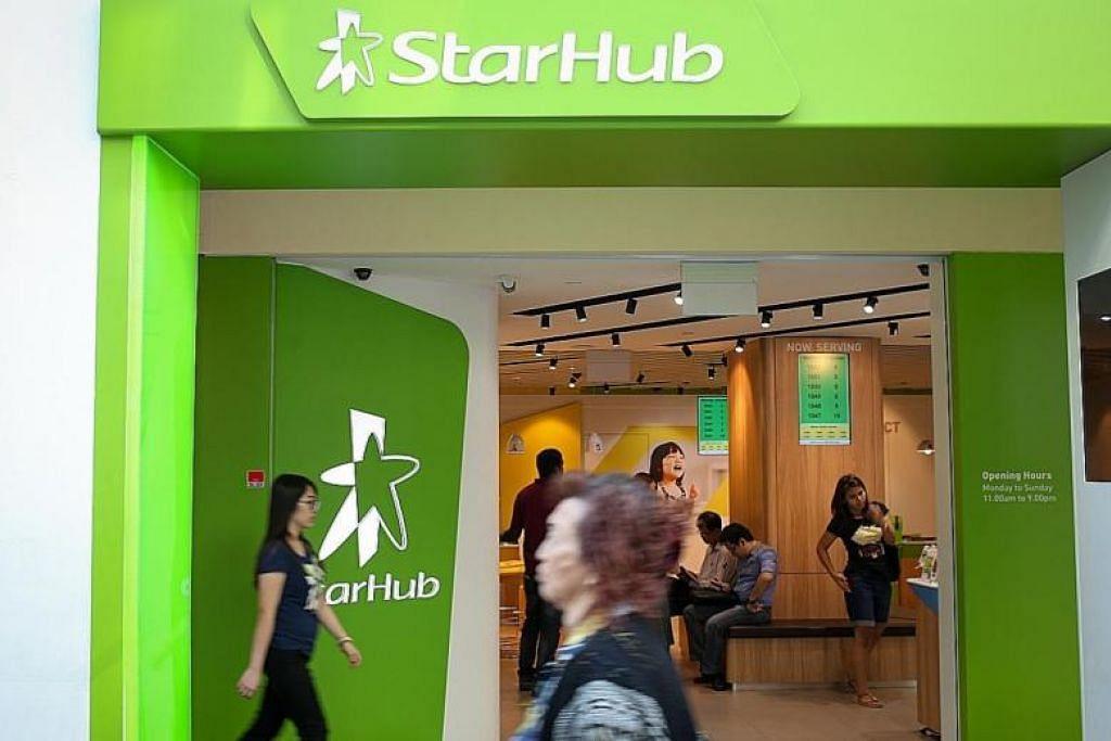 GANGGUAN INTERNET: Syarikat telekomunikasi Starhub meminta maaf kepada pelanggan atas gangguan Internetnya pada petang Selasa (17 September). -Foto TNP.