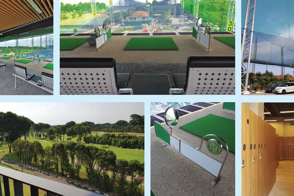 Walaupun ruang terhad, NSRCC boleh membina ruang latihan golf yang memanfaatkan teknologi graviti. - Foto NATIONAL SERVICE RESORT & COUNTRY CLUB