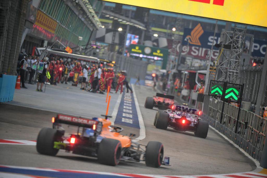 Jadual F1 hujung minggu ini: Sesi latihan dan kelayakan akan diadakan pada hari Sabtu, dan perlumbaan akan diadakan pada malam Ahad. -Foto: FAIL/MARK CHEONG.