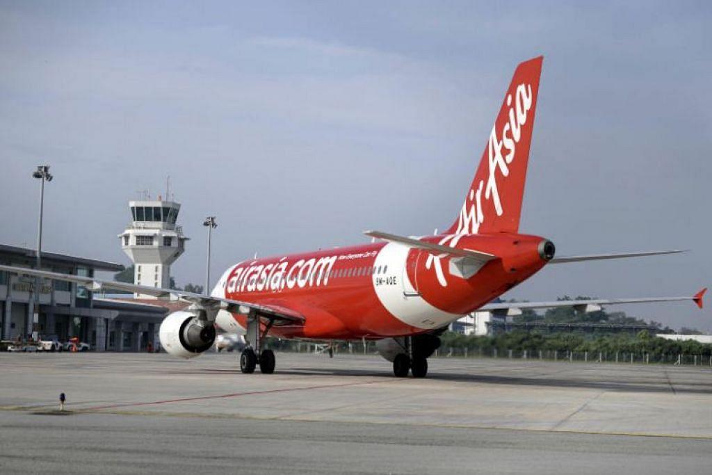 Penglihatan di udara yang kurang baik menjejas tujuan penerbangan antara Ipoh dengan Singapura -Foto: BERNAMA