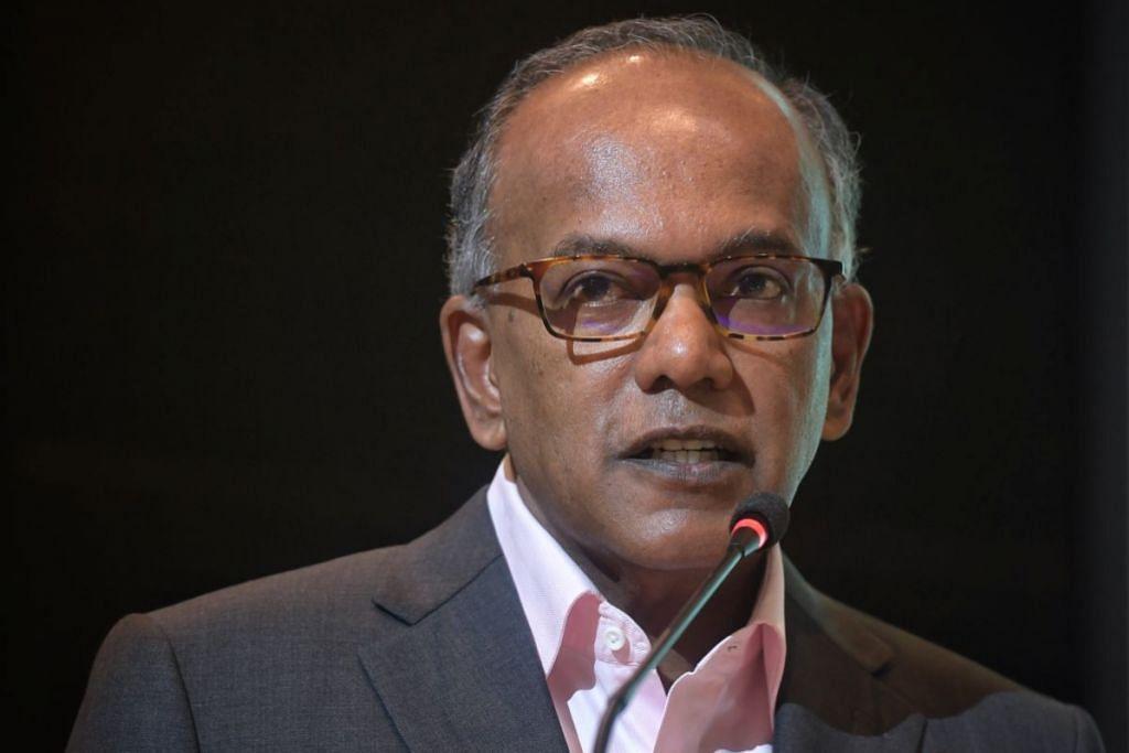 Menteri Ehwal Dalam Negeri merangkap Undang-Undang Encik K. Shanmugam