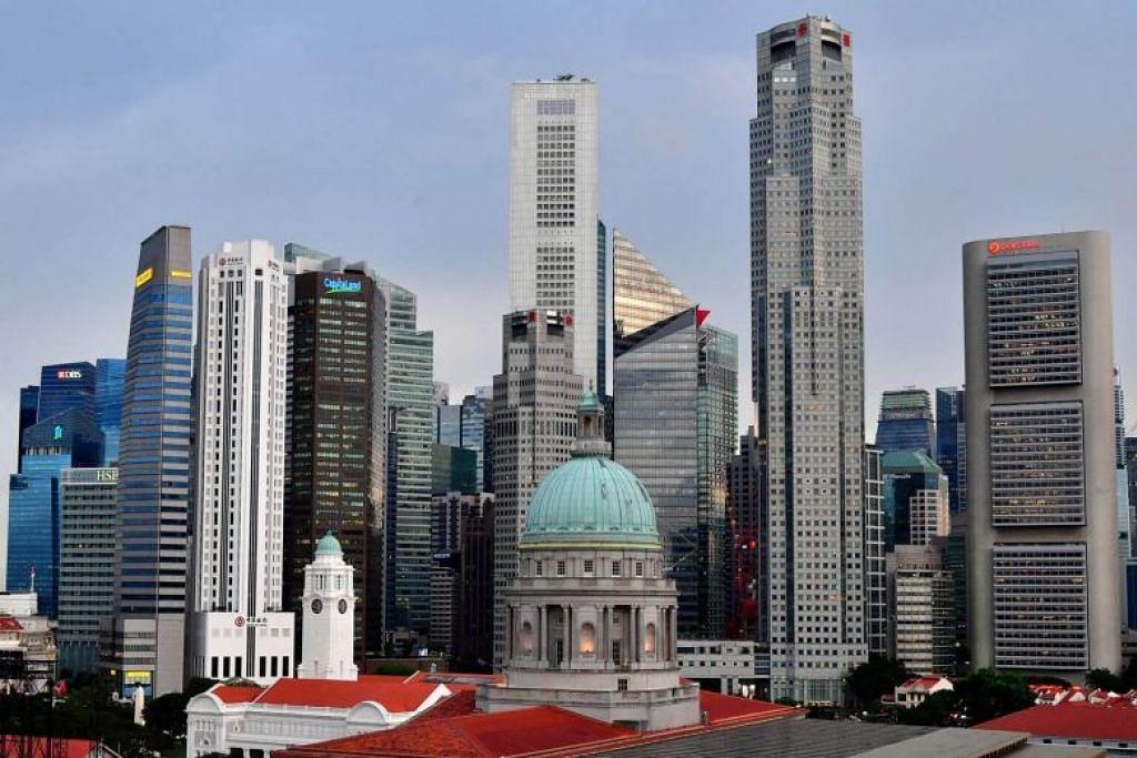 TANGGA TERATAS: Singapura menduduki tangga teratas di kalangan 104 lagi bandar global, sebagai negara paling bersedia menghadapi gangguan teknologi yang dipandu oleh AI, menurut hasil kajian tahunan Global Cities AI Disruption Index. -Foto fail.