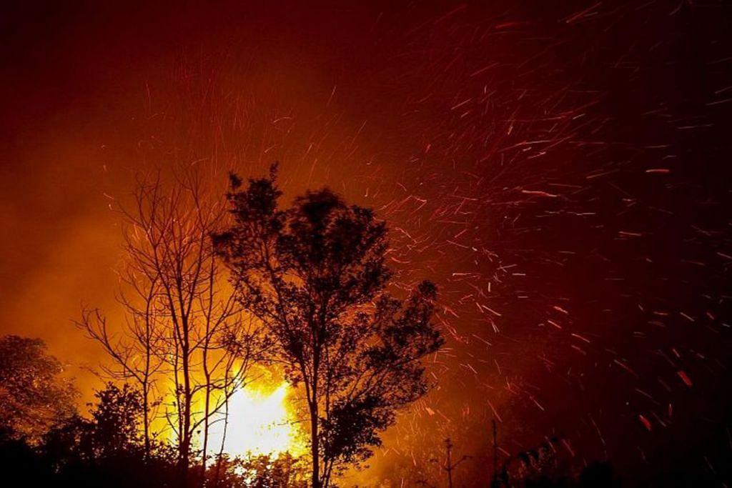 Kebakaran hutan dan tanah di Indonesia telah melepaskan 360 juta tan karbon dioxida sejak Ogos.