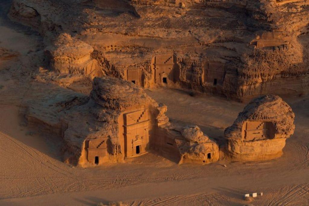 Pelancong kini boleh meneroka 'harta karun' tersembunyi di Arab Saudi, dalam usaha mengembangkan sektor pelancongan Arab Saudi. - Foto SAUDI COMMISSION FOR TOURISM AND NATIONAL HERITAGE