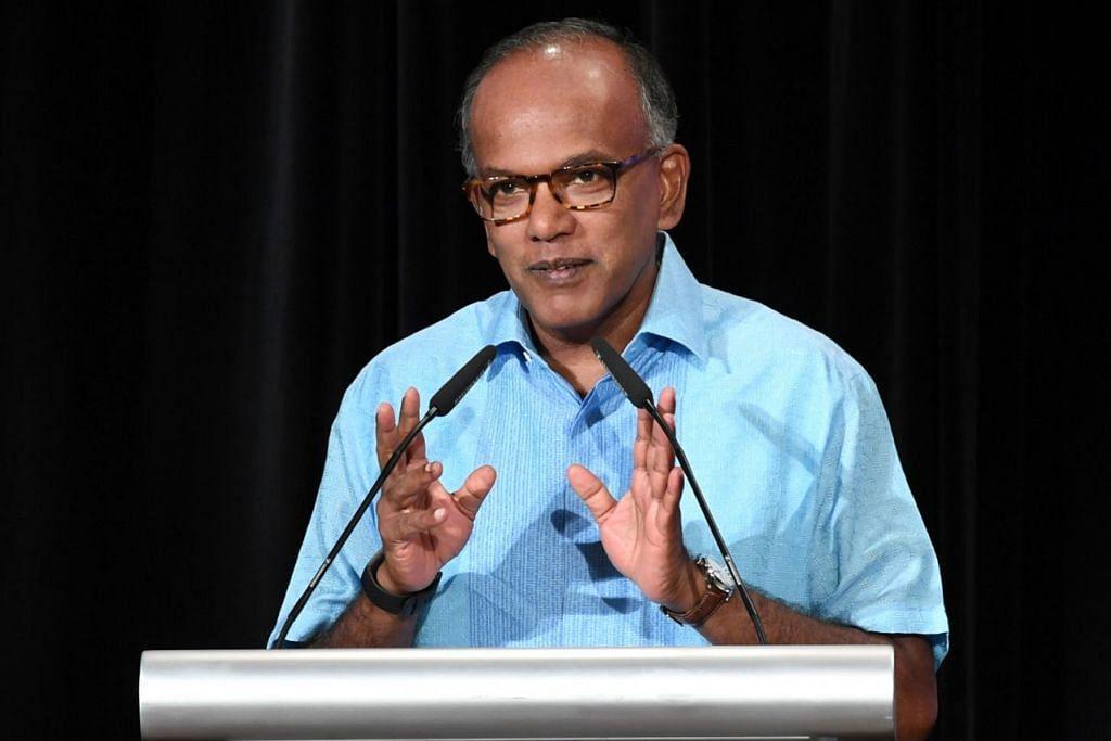 Menteri Ehwal Dalam Negeri dan Undang-Undang, Encik K. Shanmugam.