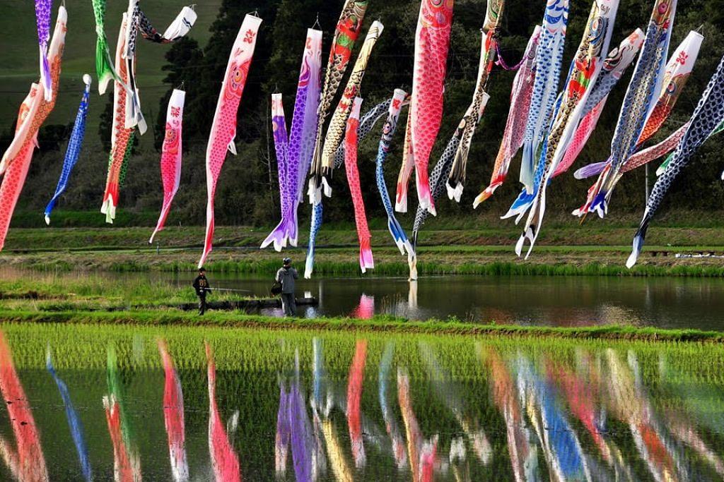 Sempena Hari Kanak-kanak 'koinobori' dikibarkan untuk meraikan setiap anak di Jepun - Foto JAPAN - THE GOVERNMENT OF JAPAN/FACEBOOK