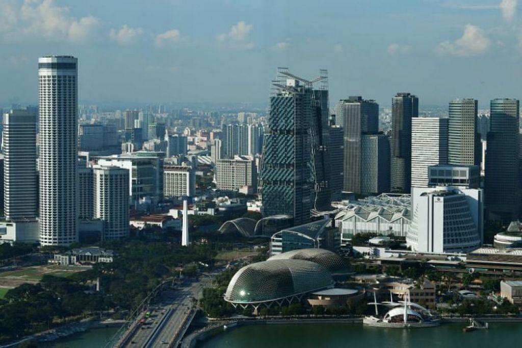 Singapura mendapat 84.8 dari 100 markah, mengalahkan Amerika Syarikat sebagai ekonomi paling berdaya saing di dunia. - FOTO ST