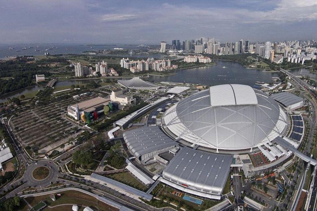 BIDA BERSAMA: Singapura merupakan antara lima negara Asean yang membida jadi tuan rumah Piala Dunia 2034, bersama-sama Thailand, Indonesia, Malaysia dan Vietnam. -Foto fail.