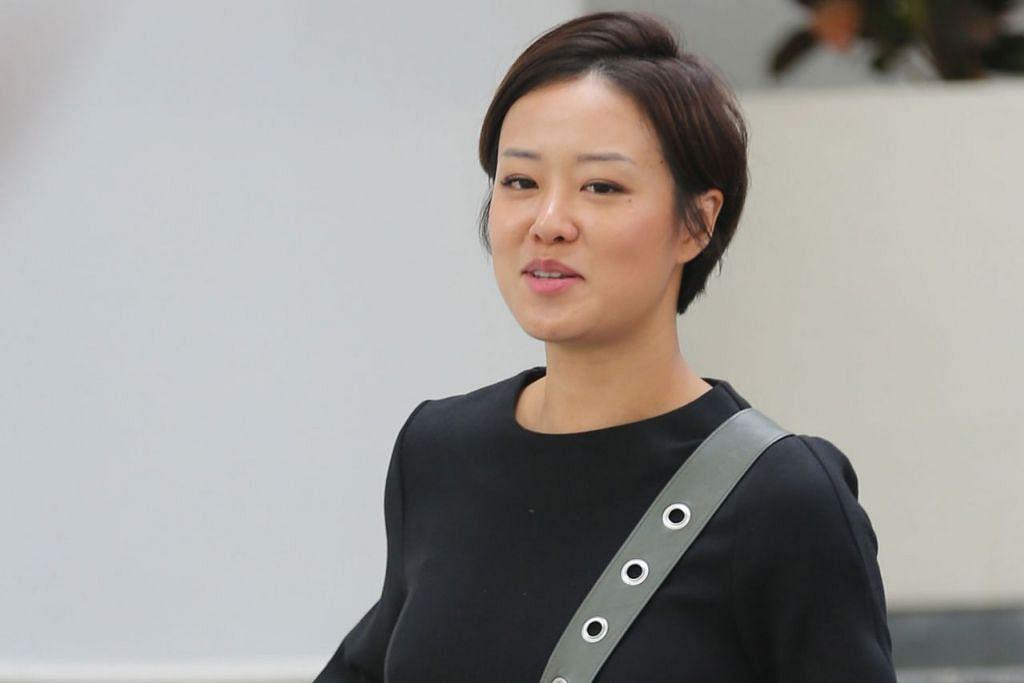 MENGAKU SALAH: Rosalind Pho Li Ann, yang lebih dikenali sebagai Roz Pho, telah meminum dua cawan wain putih sebelum memandu kereta awal bulan ini. - Foto BH oleh WONG KWAI CHOW