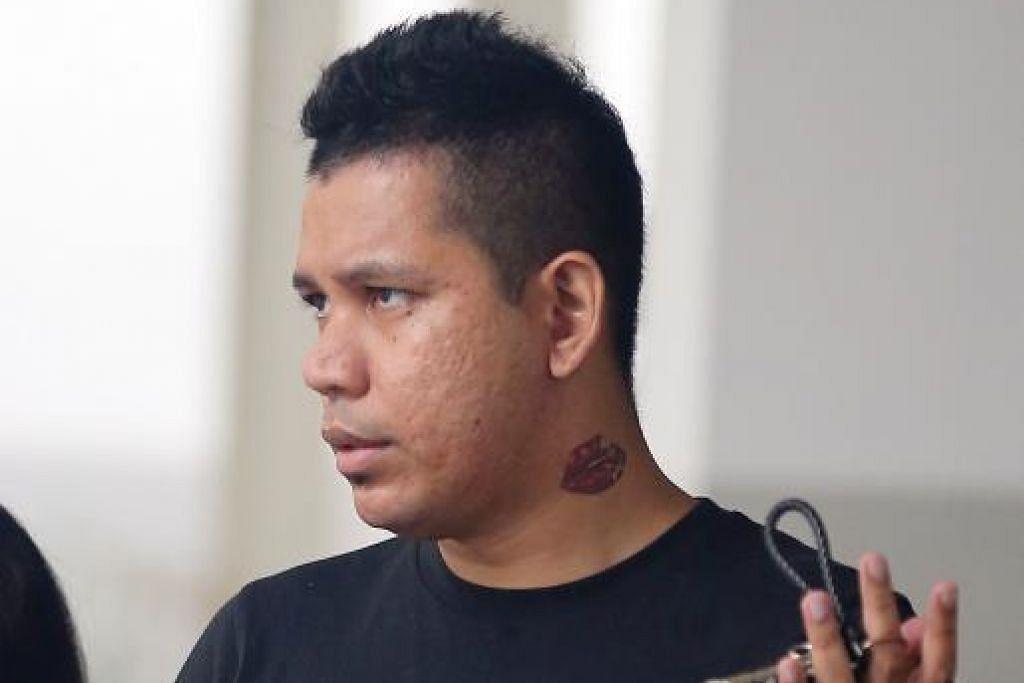 Raafiq dipenjara empat minggu kerana mencederakan kakitangan awam. - Foto ST