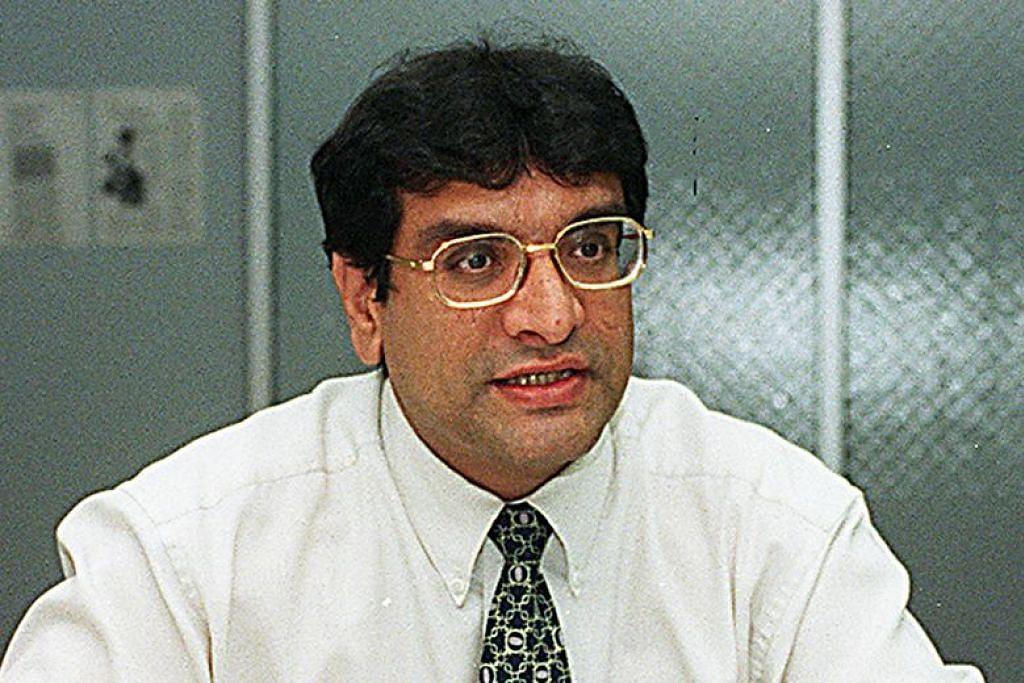 Gambar peguam Zaminder Singh Gill pada 1998. Gill didakwa menyalahgunakan $11,000 yang diamanahkan kepadanya semasa bekerja di Hilborne Law. - Foto fail