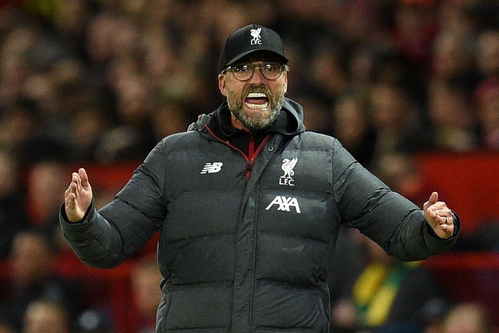 TERUSKAN KEMENANGAN: Klopp (atas) ingin memastikan Liverpool dapat teruskan momentum kemenangan sementara Pochettino ingin kembali meraih kemenangan selepas persembahan memberangsangkan di Piala Juara-Juara. – Foto AFP