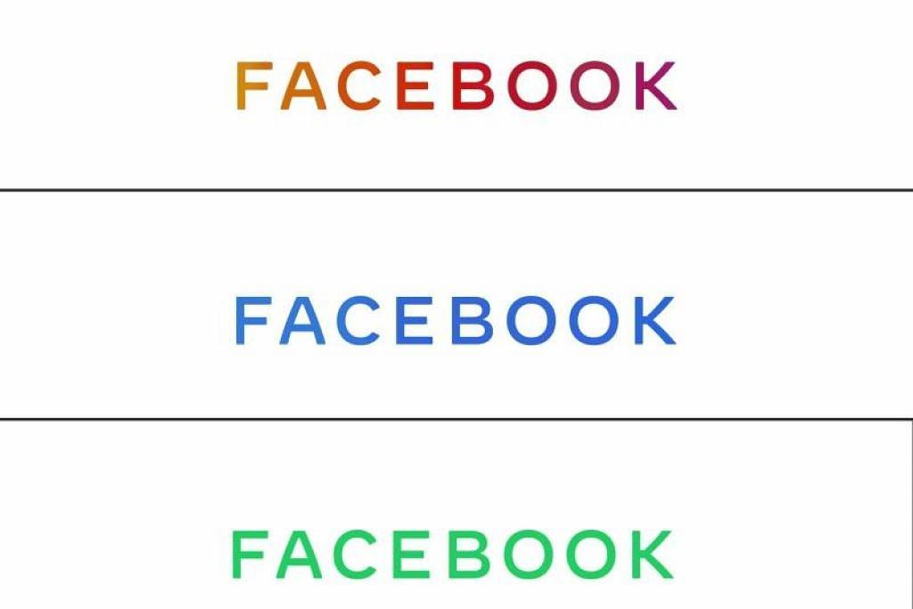 Facebook perkenalkan logo syarikat baru bagi syarikat media sosialnya. - Foto AFP