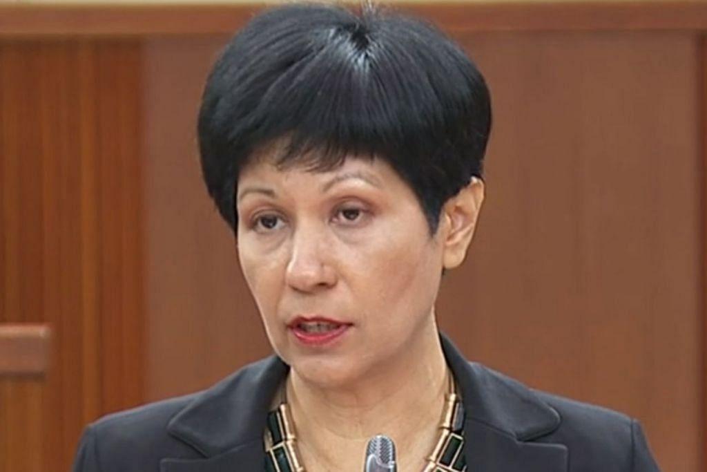 Menteri Kedua Kewangan merangkap Pendidikan, Cik Indranee Rajah.