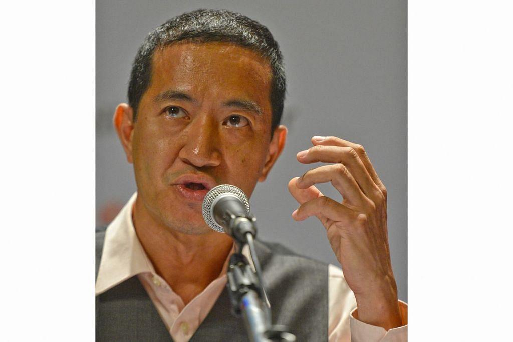 ENCIK STEVE CHIA: Dipilih sebagai setiausaha agung Parti Rakyat SIngapura (SPP) menggantikan Encik Cham See Tong. – Foto fail