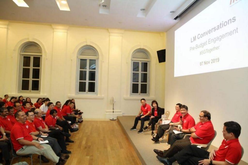 NTUC umumkan perubahan itu dalam satu dialog diadakan oleh NTUC dengan pemimpin 4G, yang diketuai DPM Heng.