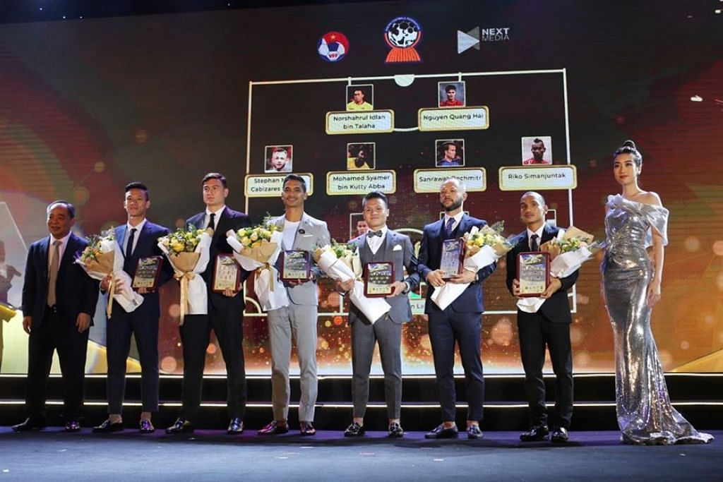Safuwan Baharudin was named in the AFF Best XI at the 2019 AFF Awards