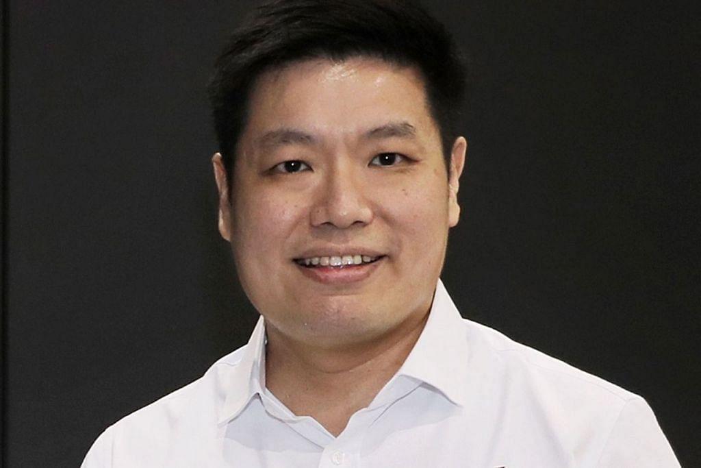 Pengerusi cawangan Paya Lebar, Encik Alex Yeo