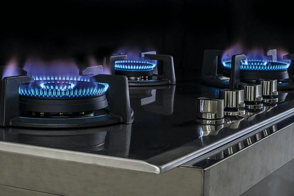 Dapur TURBO menjimatkan tenaga dan wang, dan boleh menghidupkan lima jenis api. - Foto TURBO