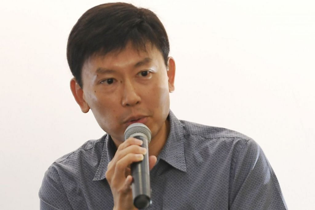 Menteri Negara Kanan (Perdagangan dan Perusahaan), Encik Chee Hong Tat.